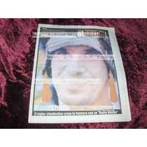 Revista Al Borde #53 Feb 01 Manu Chao De Coleccion!!