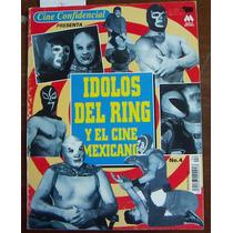 Revista Cine Confidencial,idolos Del Ring Y El Cine Mexicano