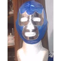Mascara De Luchador Blue Demon P/niño Lycra Economica