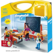 Playmobil 5971 Ciudad (maletin Escuela) 2012 Nuevo!!! Bfn