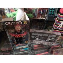 Graffiti 3x Miedo Cassette