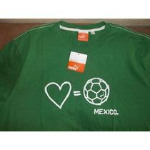 Playera Futbol Mexico Marca Puma 2xl