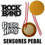 2 Sensores Pedal Rock Band Guitar Hero De Ps3 Xbox 360 Wii