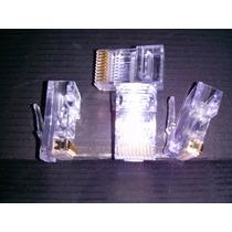 Conector Rj48 De 10 Pines Paq C/5 Conectores