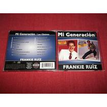 Frankie Ruiz 2 En 1 Solista Voy Encima Cd Imp Ed 2012 Mdisk