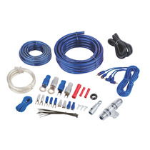 Kit Cables Cal 4 Para Amplificador. Bullz Audio Spak4bl