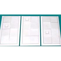 Molde Plastico Diseño Pared 3d, Yeso O Cemento (estampado)