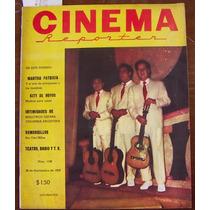 Revista Cinema ,los Panchos En Portada,maria Felix