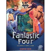 Vs System Fantastic Four Juego De Cartas Coleccionable