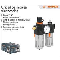 Oferta Unidad De Limpieza Y Lubricacion Mca Truper Compresor
