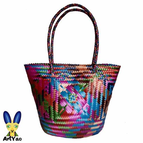 Bolsa De Mano Artesanal Oaxaca 37a00f3e7e07