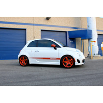 Rines Ultralivianos Para Fiat 500 / Sport / Abarth