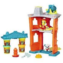 Play-doh Ciudad Del Parque De Bomberos