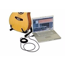6.5mm Jack Guitarra A Usb Link Cable Adaptador Para Pc/mac