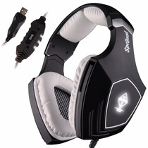 Sades Wired Surround Sound Pc Usb Gaming Headset Stereo