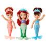 Set Princesa Ariel Y Sus Hermanas Pequeñas - Crema