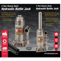 Gato Hidráulico De 4 Toneladas Heavy Duty Bottle Jack