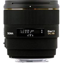 Sigma Lente 85mm F/1.4 Ex Dg Hsm Para Canon