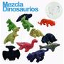 Juguetes Maquina Chiclera $2 Pesos Mini Dinosaurios