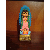 Hermosa Alcancía Virgen De Guadalupe Infantil Pintada A Mano