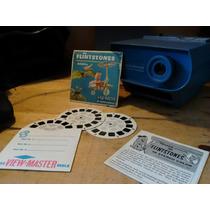 Antiguo Proyector View Master Con Discos