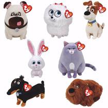Secret Life Of Pets Ty Beanie Babies Plush - Movie Soft Toys