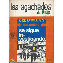 Los Agachados De Rius # 98 1972 Posada