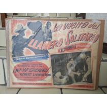 El Llanero Solitario Poster De Cartelera De 1939