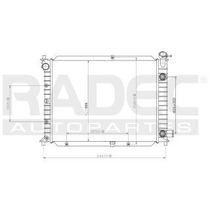 Radiador Ford Escort 1991-1992-1993 L4 1.8/2.0lts S/aire Aut