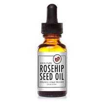 Certified Organic 100% Aceite De Semilla De Rosa Mosqueta Pu