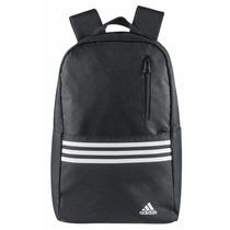 Mochila Back Pack Negro Blanco, Adidas, Mk1879