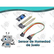 Sensor De Humedad En El Suelo Para Arduino, Raspberry Fc28b