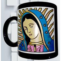 Taza Grabada Virgen De Guadalupe