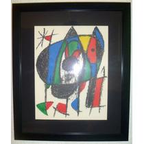 Serigrafia De Joan Miro