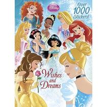 Disney Princess: Deseos Y Sueños Libro De Actividades