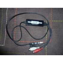 Capturadora De Audio Usb Ezcap Rca Conector 3.5mm Win Mac