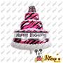 Globo Pastel De Cumpleaños 100x68 Cm Decora Tu Cumpleaños