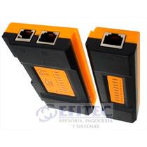 Efi-acccact005 Probador Cables Tj45 Y Rj11 Modcy-468a Efitec
