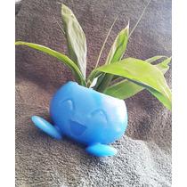 Pokemon Oddish Maceta Coleccionable Regalo Planta Mediana