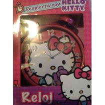 Reloj Despertador Hello Kitty Grande Estilo Vintage