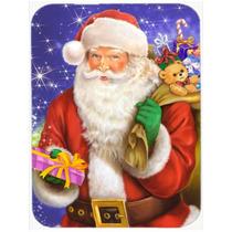Navidad Santa Claus Listo Para Vidrio Trabajo Tabla De Corta