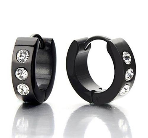 e93361cef76b Piercing Hombre Arracada Diamante Acero Inox 2 Pzs Con Envio