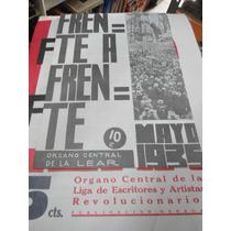 Frente A Frente Liga De Escritores Y Artistas Revolucionario