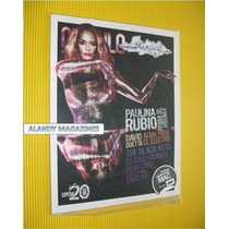 Paulina Rubio Revista Circulo Mix Up 2012