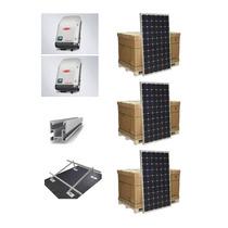 Planta Solar Fotovoltaica Negocio Trifasico 20kw / 100kw Dia