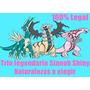 Paquete Pokemon Legendarios Sinnoh Shiny Competitivos 6iv