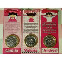 10 Bolos C/moneda Chocolate Personalizados Bautizos Eventos!
