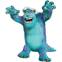 Globo Sully Monster University 6 Pza 14 Pulgada Centro Mesa