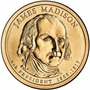 Moneda De Dollar Coleccionable De James Madison