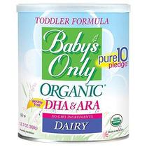 Sólo Lácteos Orgánicos Del Bebé Con Dha Y Ara Fórmula 12.7 O